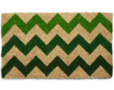Greens and Salutations Doormat