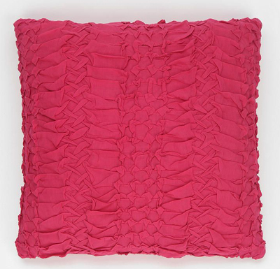 Pink Smocked Pillow