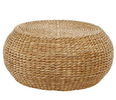 Round Woven Coffee Table Decor By Color