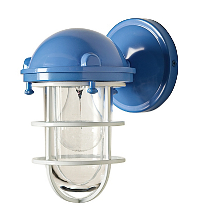 Ultramarine Beacon Sconce