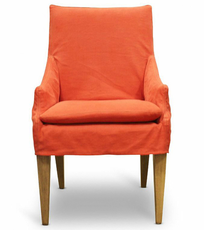 Riva Slipcovered Dining Chair
