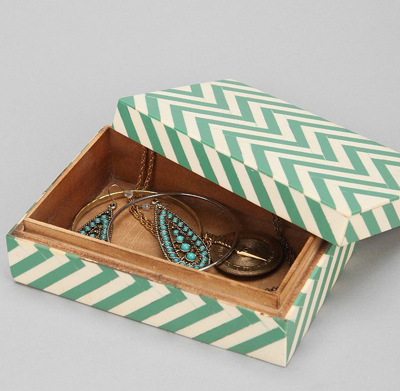 Zigzag Jewelry Box