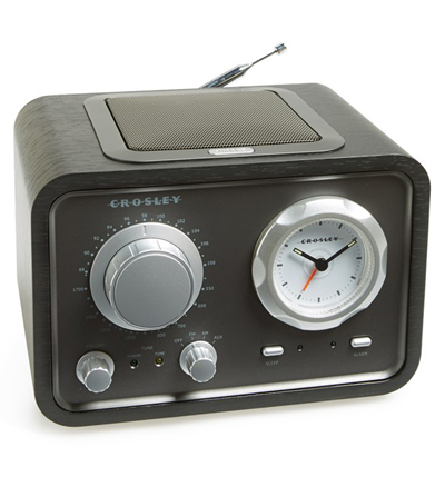 Crosley Radio Duet Alarm Clock Radio