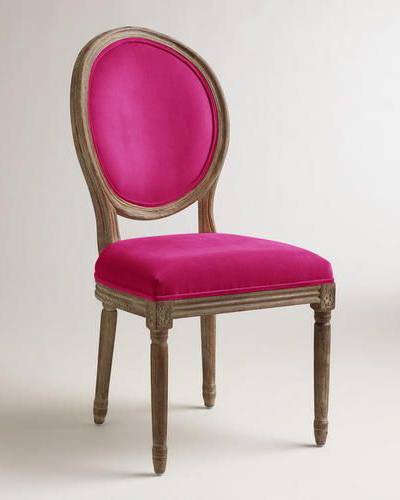 Fuchsia Paige Dining Chairs