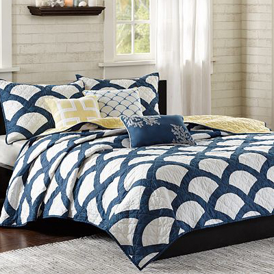 Madison Park Montego 6-pc. Coverlet Set