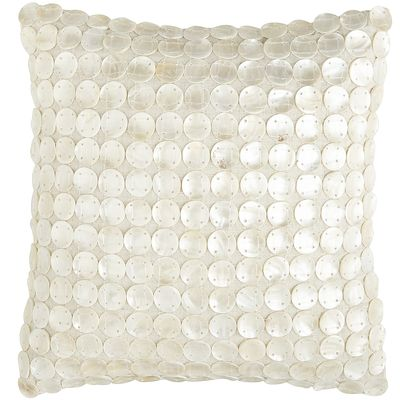 Mother-of-Pearl Disc Pillow
