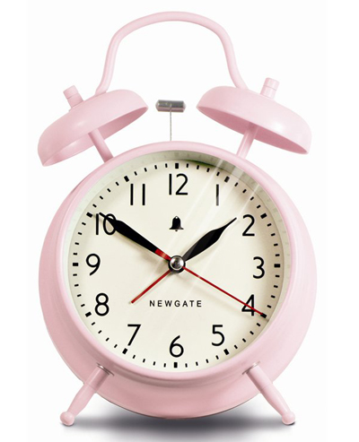 Pink Covent Garden Alarm Clock