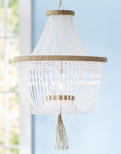 Rissa Crystal Beaded Chandelier