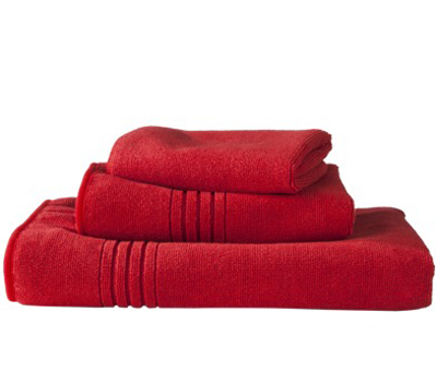 T-Tex Microfiber Towel Bundle in Red Explosion