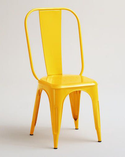 Yellow Cargo Chairs - Set of 2
