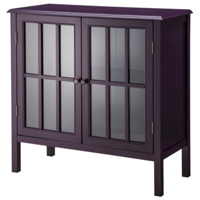 Purple Windham Accent Cabinet