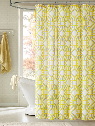 Alana Fabric Shower Curtain