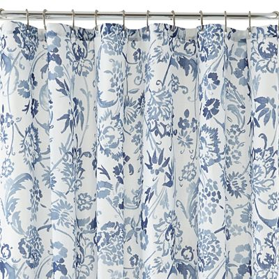 Liz Claiborne Eden Shower Curtain Decor By Color
