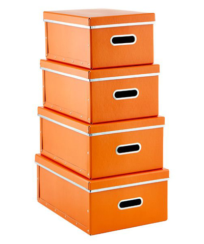 Orange Store Anywhere Boxes