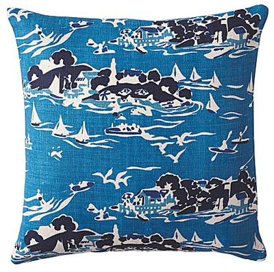 Skylake Toile Pillow Cover
