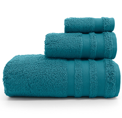 Turquoise Cloud Bath Towels