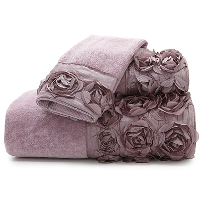Croscill Graduated Rose Bath Towels