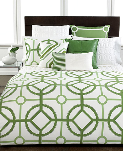 Modern Trellis Bedding Collection