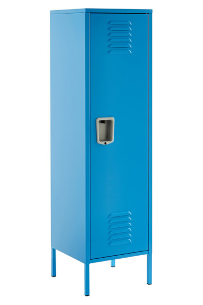 Tall Blue Locker