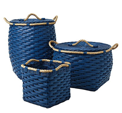 Cobalt Rope Bin Collection