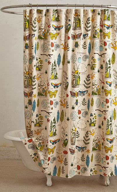 Entomology Shower Curtain