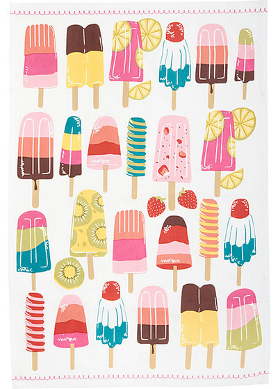 Ice Pop Tea Towels