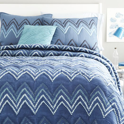 Jay Street Dotted Chevron Quilt