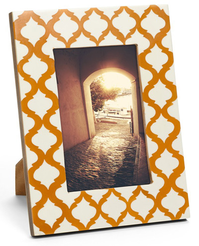 Orange Picture Frames | Decor by Color