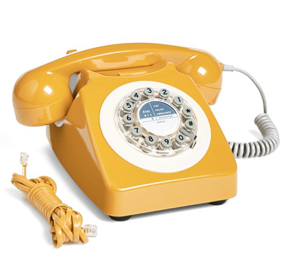 Yellow 746 Phone