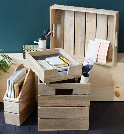 Crated Office Collection