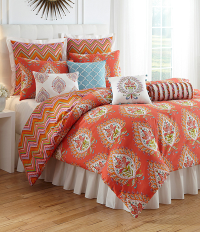 orange bedding | decorcolor