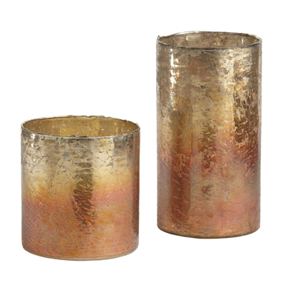 Lustrous Votive Holders