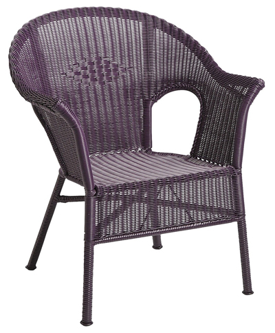 Purple Casbah Chair