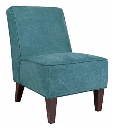 Teal Blue Dover Parisian Chair