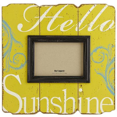 Hello Sunshine Frame