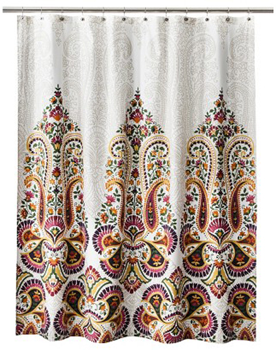 Samovar Shower Curtain