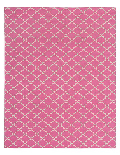 Bright Pink Addison Rug