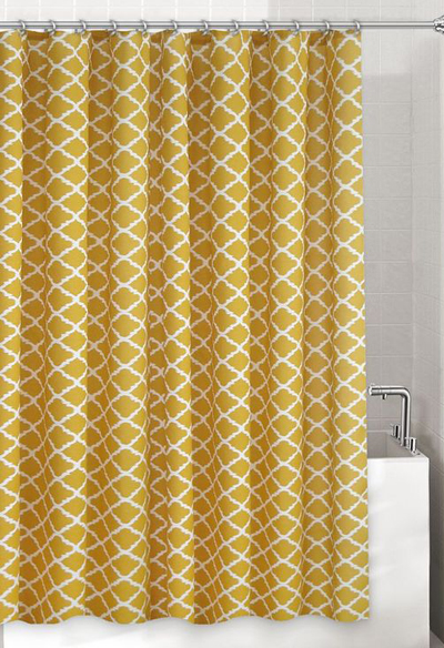 Misha Fabric Shower Curtain