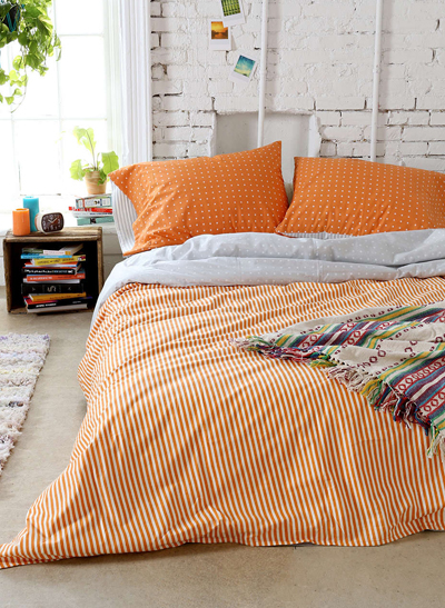 Tiny Stripe Duvet Cover