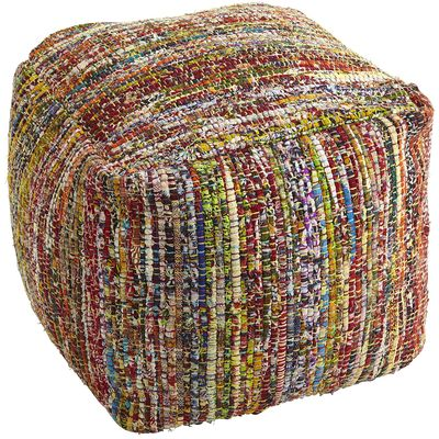 Chindi Floor Pouf