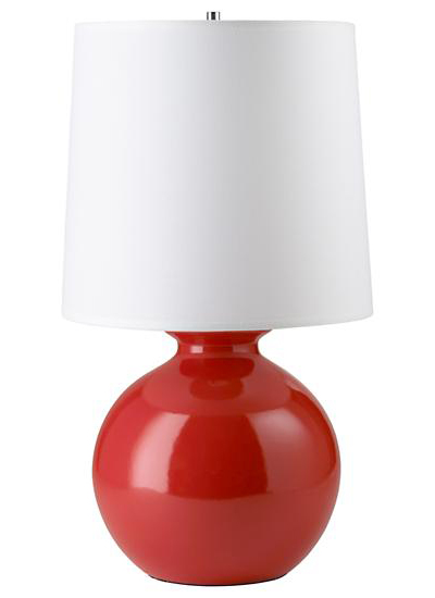 Red Gumball Lamp
