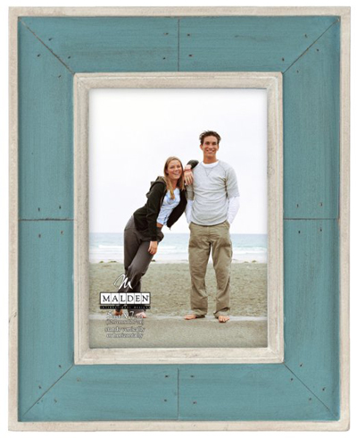 Turquoise Distressed Picture Frame