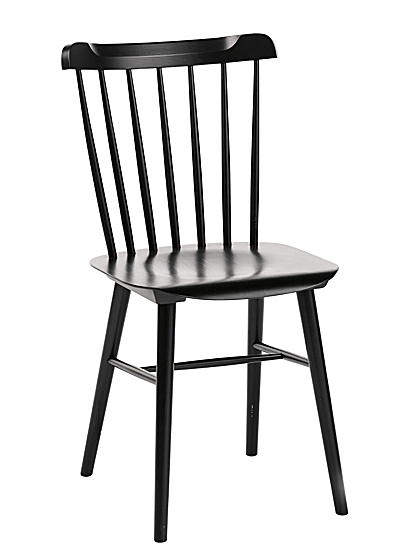 Black Tucker Chair