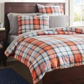 Field House Plaid Duvet Cover