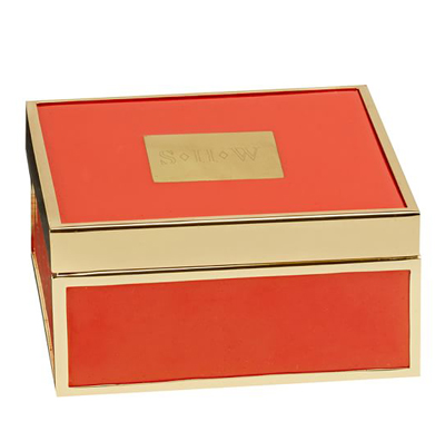 Kinsey Enamel Jewelry Box