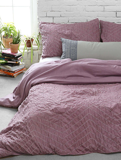 Meghan Ruched Duvet Cover