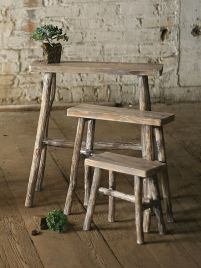 Rectangle Tables with Twig Legs