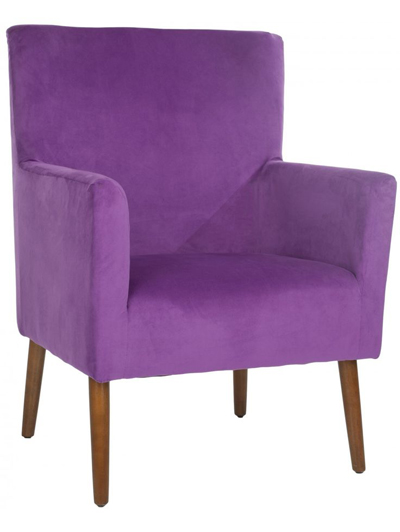 Purple Allegory Chair