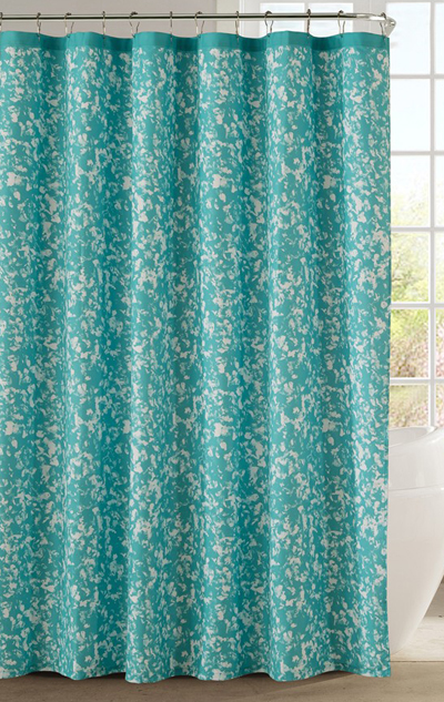 Turquoise Shower Curtains | Decor by Color