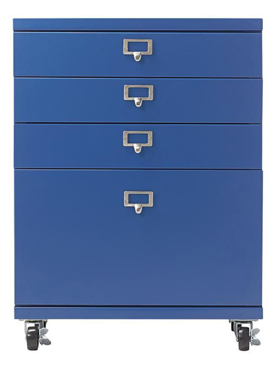 Becker 3+1 Drawer Metal Cart